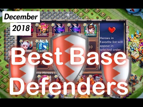 Top 6 Base Defenders In Castle Clash