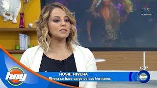 Rosie Rivera cedió la custodia de los hijos de Jenni Rivera | Hoy