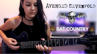 Download AVENGED SEVENFOLD - Bat Country solo (guitar cover by Helena Nagagata)
