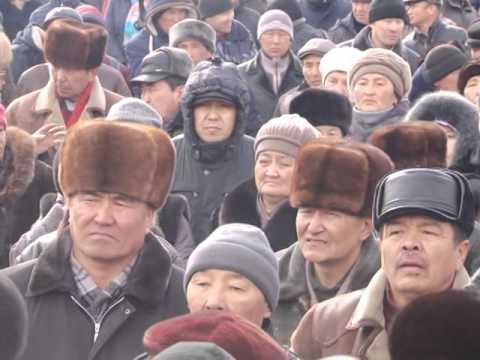 Митинг в Нарыне 27 января 2016 года