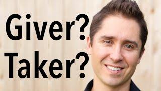 Giver or Taker? By Catholic Speaker and Evangelist Ken Yasinski