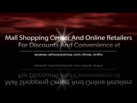 Mall Shopping Center And Online Retailers 4 Discounts & Convenience shopping-on-line.info