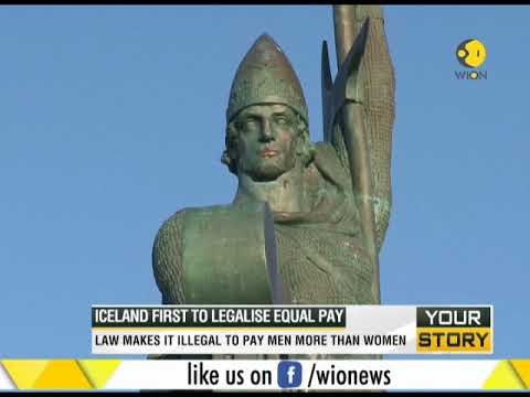 Iceland becomes first to legalise equal pay