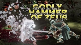 GOW Ascension - Godly Hammer of Zeus Gameplay