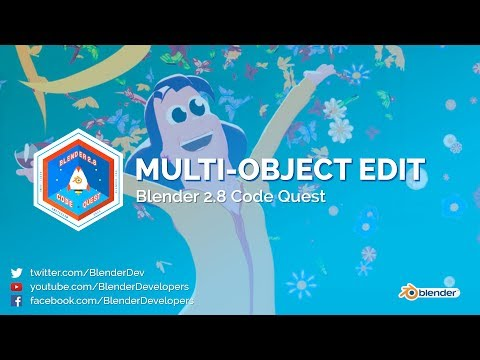 Multi-Object Editing in Blender 2.8! - Code Quest