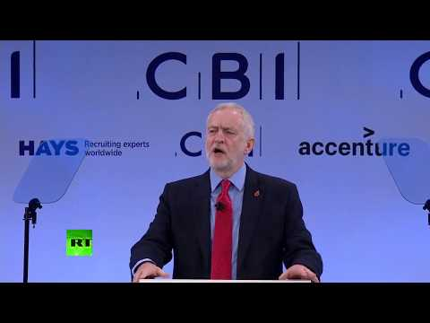 LIVE: Jeremy Corbyn speaks at CBI's annual conference