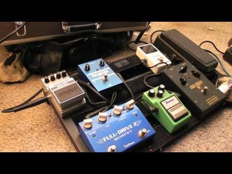 A walkthrough of my electric guitar rig
