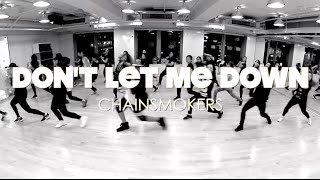 DONT LET ME DOWN CHOREOGRAPHY / PRINCEBRYAN BEGINNERS CLASS / HKFDC
