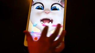 Konuşan Angela ile diş fırçalama bilgisayar oyunu. Türkçe izle! Çocukvideo