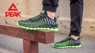 Кросівки для спорту чоловічі E72057H-BLA ✓ PEAK Sport ... 66fc346676e9b