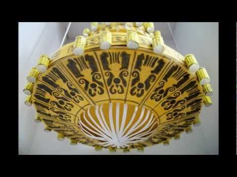Paper Model of The Phantom of the Opera Chandelier (Las Vegas Production)