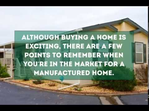 Buying A Manufactured Home Youtube