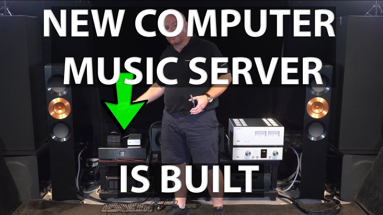 Building the Ultimate Music Server - Hardware