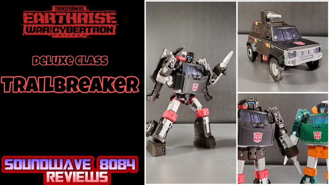 Transformers WFC Earthrise Trailbreaker Review by Soundwave 8084