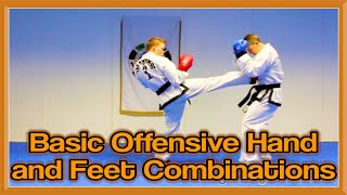 Download Video Basic Offensive Hand & Feet Combinations for Sparring   GNT Martial Arts MP3 3GP MP4