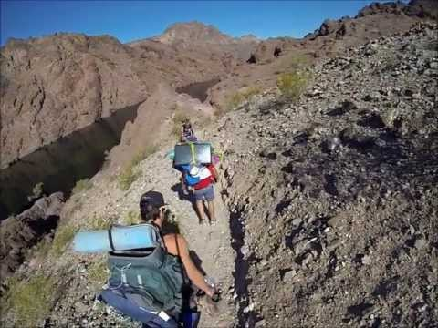 Backpacking in  White Rock Canyon and Black Canyon (Lake Mead Recreation Area)