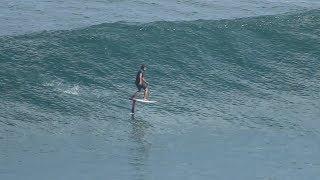 surf foiling