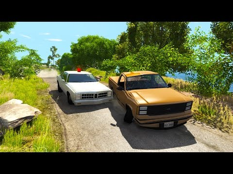 SEARCH AND DESTROY POLICE PURSUITS! - BeamNG Drive Chase and Pursuit Scenario Pack