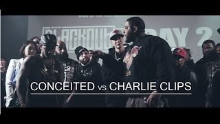 One of King Of The Dot Entertainment's most viewed videos: KOTD - Rap Battle - Conceited vs Charlie Clips | #Blackout4