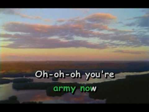 Status Quo - You're In The Army Now (karaoke)