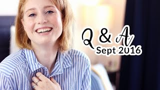 Q and A I SUPERKRAFT BLOGGEN LIEBLINGSESSEN I Advance Your Style