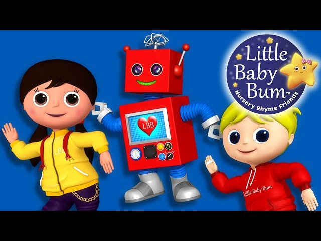 Little Baby Bum | Robot Song | Nursery Rhymes for Babies | Songs for Kids