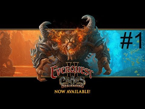 Everquest 2: Chaos Descending new expansion.