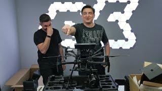 Cum E Să Zbori Drona De 35k 💶 - Dji Matrice M210.