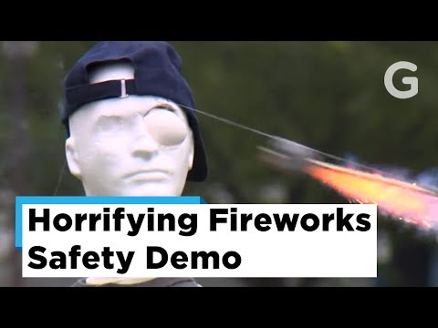 Just Jordyn - Firework safety fails: don't end up like them!