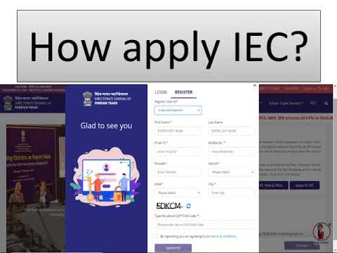 How To Apply IEC? || In Tamil ||