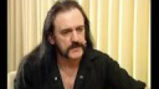 MOTORHEAD - TV interview with Lemmy Kilmister (OFFICIAL INTERVIEW)