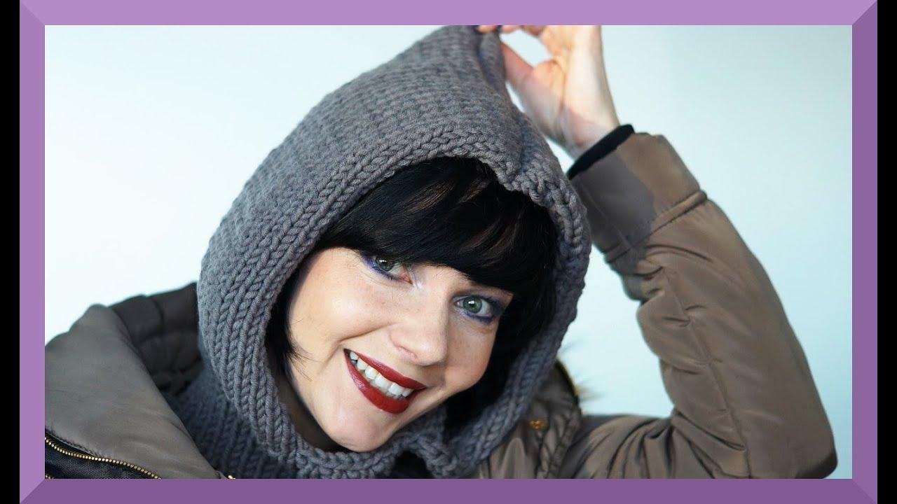 Kapuzenschal Stricken Für Anfänger Teil 1 Einfach Youtube