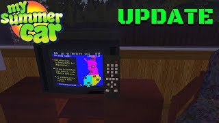 FUNCTIONAL TV - TELETEXT - REMOTE CONTROL - My Summer Car UPDATE #143