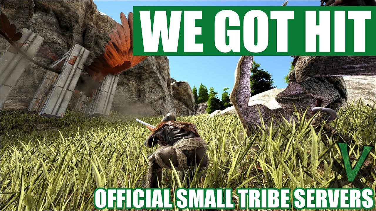 SETTING UP AFTER GETTING RAIDED | Ark Official PVP Small Tribe Servers | EP3