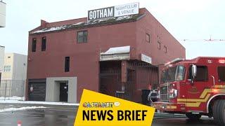 Fire crew battle blaze at night club