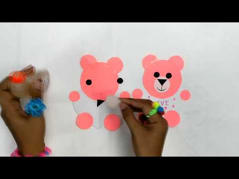 How to make craft paper animal || Easy DIY with paper || Color by Chhoum Ravy Vlogs