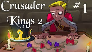 Crusader Kings 2 | Charlemagne | Roma Surrectum (Rome Rises) Part 1