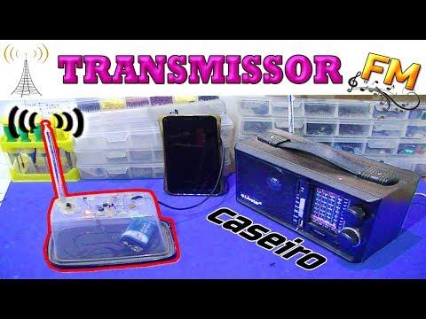 Como fazer uma Emissora de Radio Fm ( transmissor FM bc337 )
