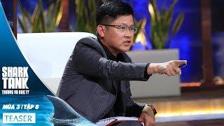 Teaser Tập 8 - Ai Mới Thật Sự Làm Công Nghệ Ở Đây - Thương Vụ Bạc Tỷ - Shark Tank việt Nam - Mùa 3