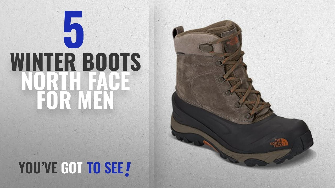 e63f6df7368 Top 10 Winter Boots North Face [ Winter 2018 ]: The North Face Mens Chilkat  III Boot - Mudpack