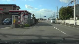 4K 愛媛県道193号等 松山道・川内IC付近→松山IC付近を下道で