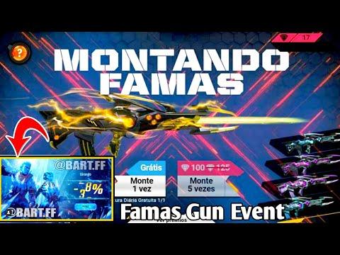Free Fire New Event Famas Gun