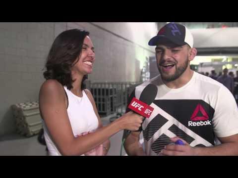 Fight Night Fortaleza: Kelvin Gastelum Backstage Interview