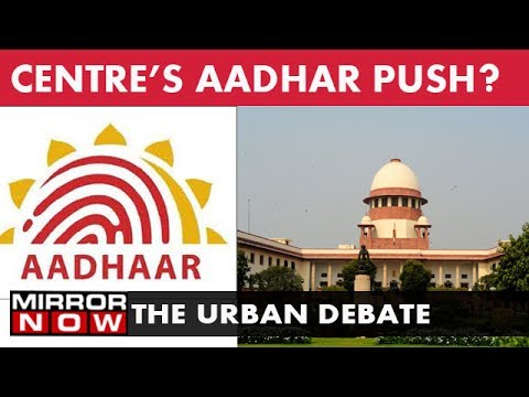 Is right to privacy a fundamental right – The Urban Debate (July 18)