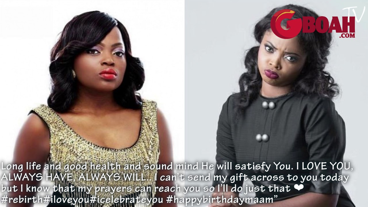 Funke Akindele Ignores Toyo Baby's Birthday Message.See What She Got Back[She Just Won't F