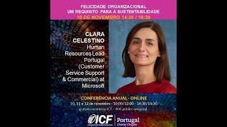 ICF Portugal - Clara Celestino apresenta tema da Conferência 2020