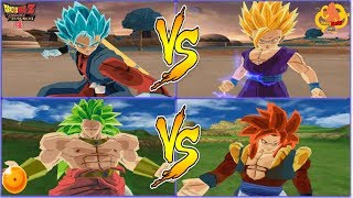 SEMIFINALES GRAN TORNEO DBZ BT4 VERSION LATINO