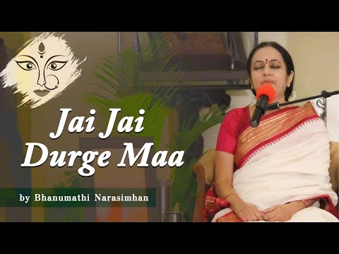 Jaya Jaya Durge Maa Song by Bhanu Didi | Art of Living Maha Satsang