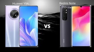 Huawei Y9A (8GB) vs Redmi Note 10 Lite (8GB) | Full Comparison of Speed... Which one is Faster??!🚀🚀