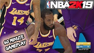 NBA 2k19 GAMEPLAY! 1 HOUR of WARRIORS vs LAKERS NBA 2k19 OFFICIAL Gameplay (5v5 Gameplay)